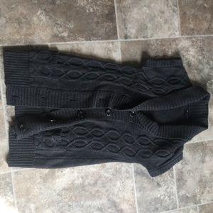 Long gap sweater